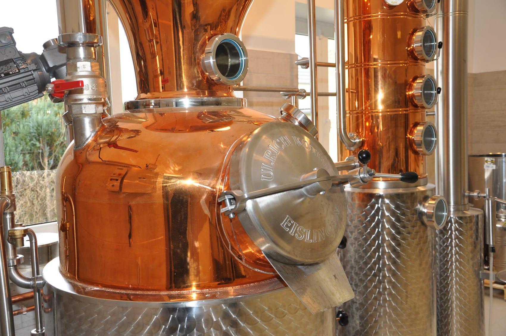 Brennerei Gin E=mc²