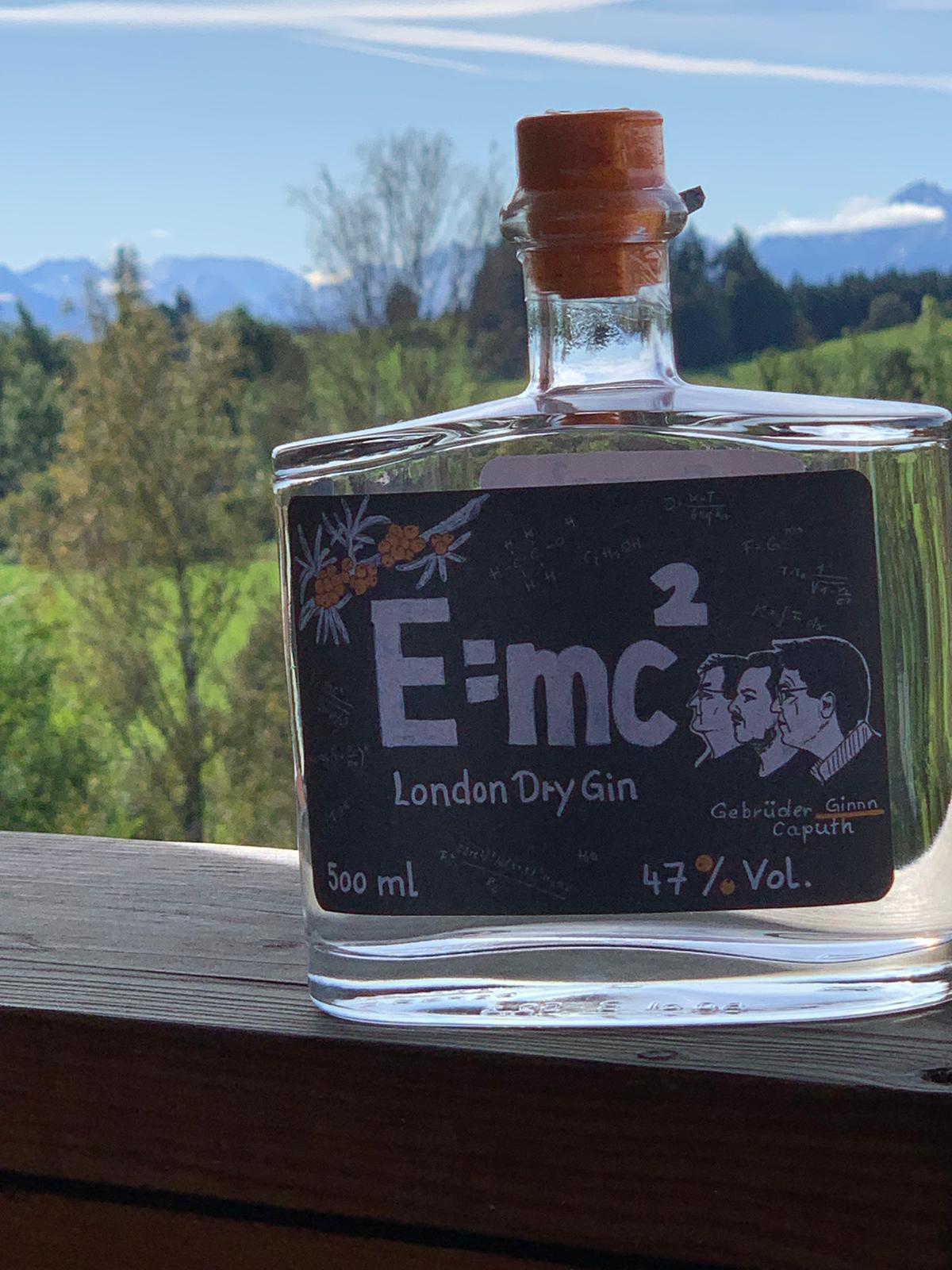 Gin E=mc² in Allgäu
