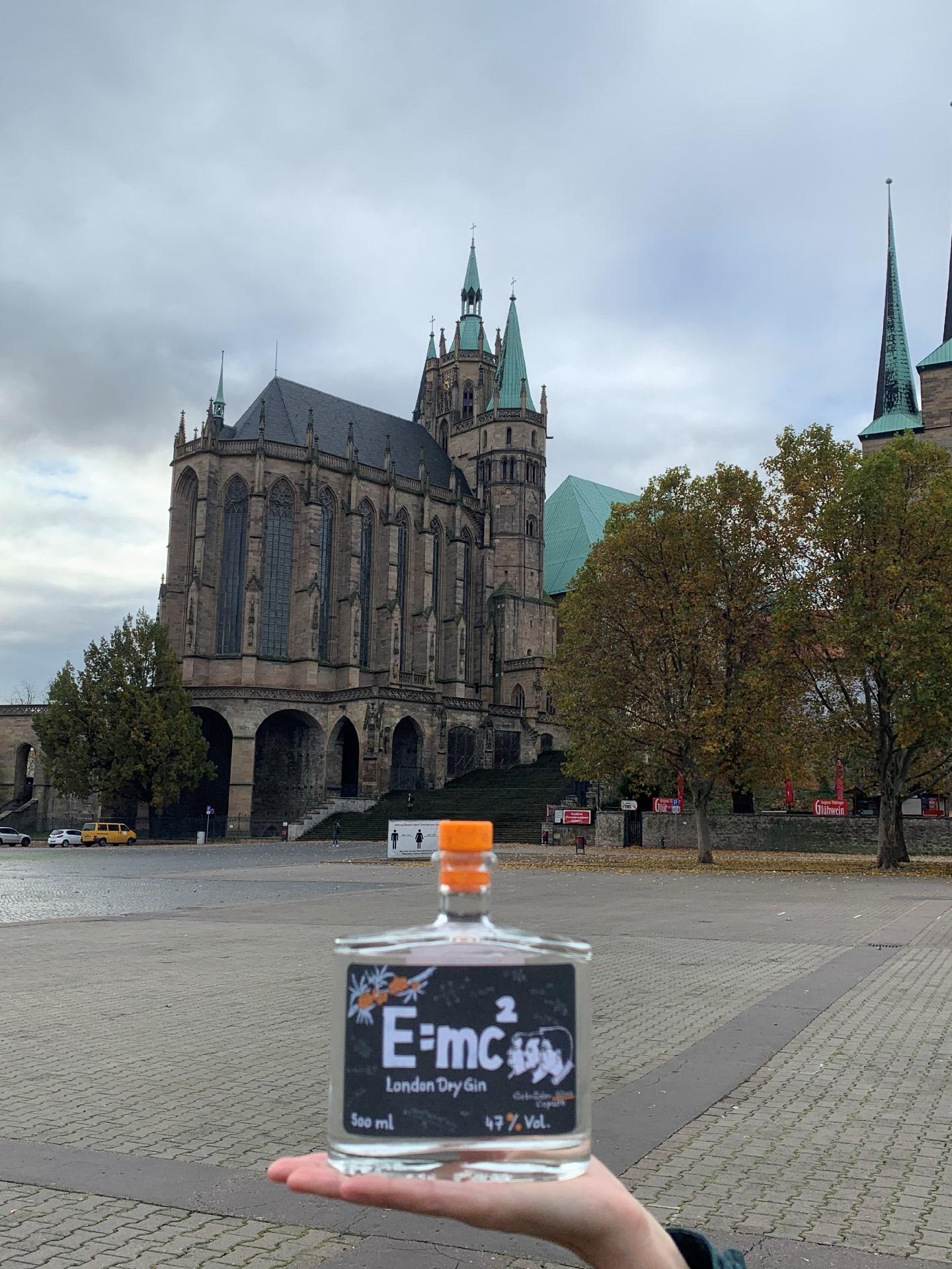 Gin E=mc² in Erfurt